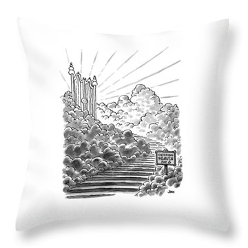 New Yorker February 3rd, 1997 Throw Pillow