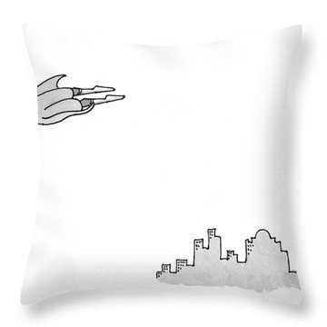 New Yorker January 11th, 1999 Throw Pillow