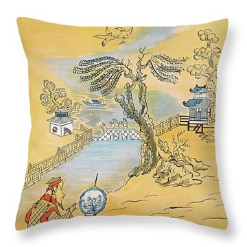 New Yorker January 12th, 1957 Throw Pillow