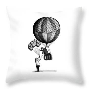 New Yorker January 18th, 1964 Throw Pillow