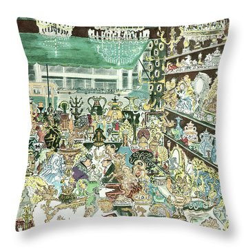 New Yorker January 23rd, 1960 Throw Pillow