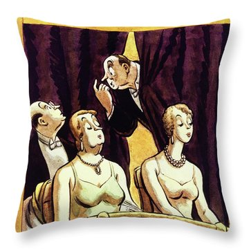 New Yorker January 28 1933 Throw Pillow