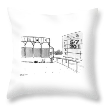 New Yorker January 29th, 1990 Throw Pillow