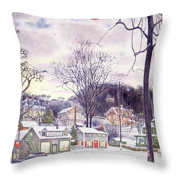 New Yorker January 9th, 1965 Throw Pillow