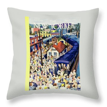 New Yorker July 13 1940 Throw Pillow