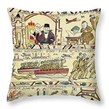 Franklin Roosevelt Throw Pillows