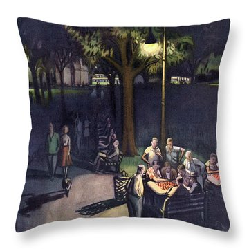 New Yorker July 18th, 1953 Throw Pillow