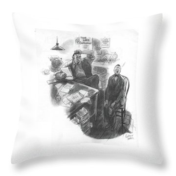 New Yorker July 1st, 1933 Throw Pillow