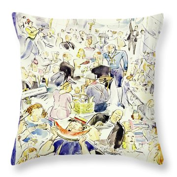 New Yorker July 20 1940 Throw Pillow