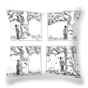 New Yorker July 22nd, 1991 Throw Pillow