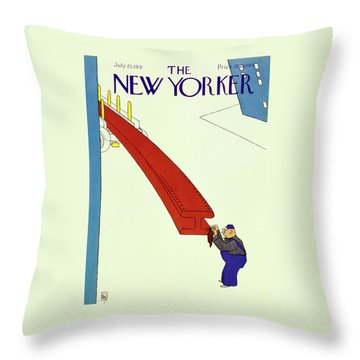 New Yorker July 25 1931 Throw Pillow
