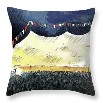 New Yorker July 25th, 1970 Throw Pillow