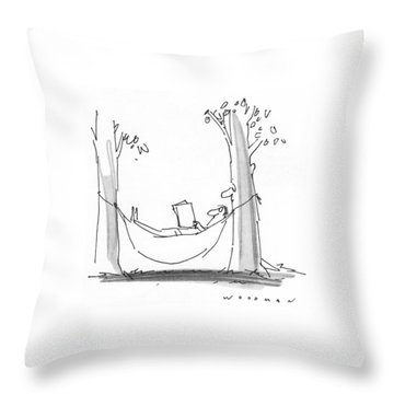 New Yorker July 26th, 1976 Throw Pillow