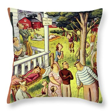 New Yorker July 27 1935 Throw Pillow