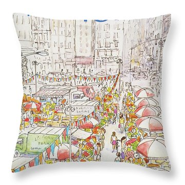 New Yorker July 27th, 1981 Throw Pillow