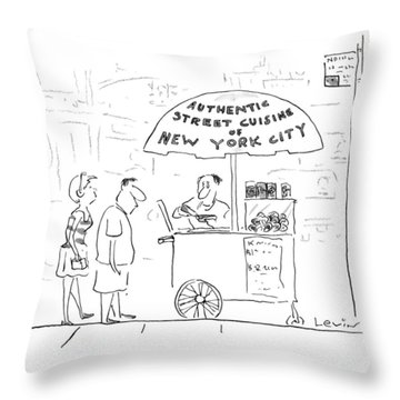 New Yorker July 29th, 1996 Throw Pillow