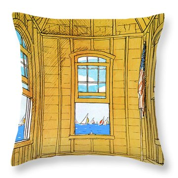 New Yorker July 2nd, 1979 Throw Pillow