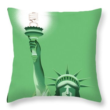 New Yorker July 2nd, 2007 Throw Pillow