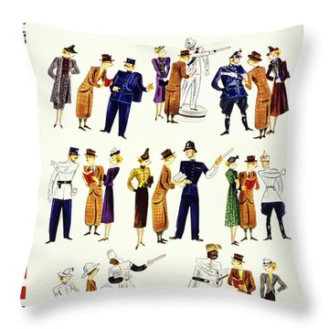 New Yorker July 30 1938 Throw Pillow