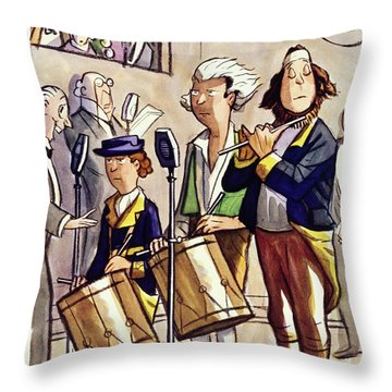 New Yorker July 4 1936 Throw Pillow