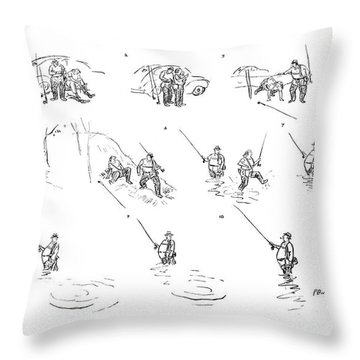 New Yorker July 5th, 1941 Throw Pillow