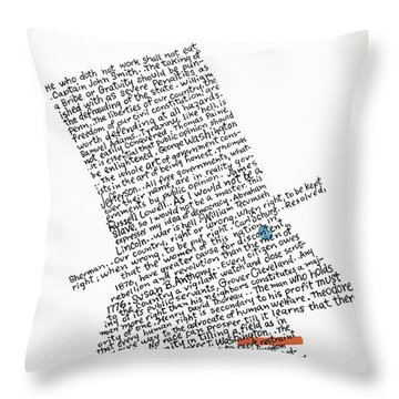 New Yorker July 5th, 1976 Throw Pillow