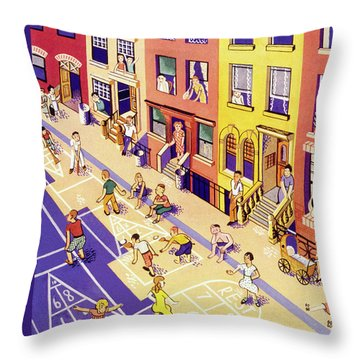 New Yorker July 9 1938 Throw Pillow