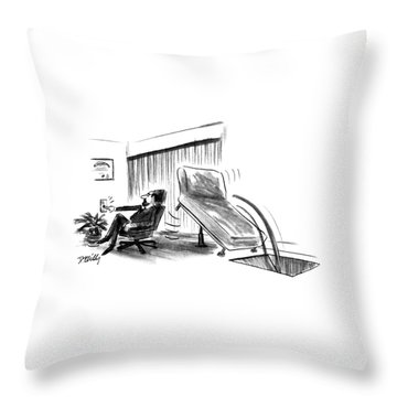 New Yorker June 10th, 1991 Throw Pillow