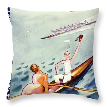 New Yorker June 15 1935 Throw Pillow