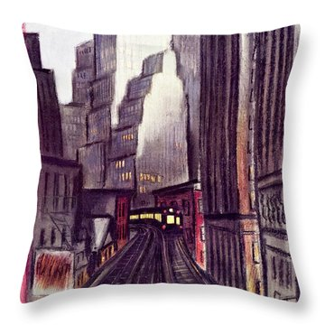 New Yorker June 15 1940 Throw Pillow