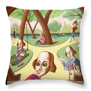 New Yorker June 16th, 2003 Throw Pillow
