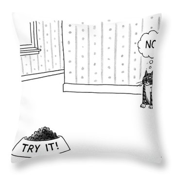 New Yorker June 17th, 1991 Throw Pillow
