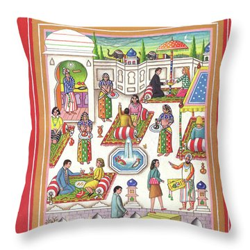 New Yorker June 1st, 1992 Throw Pillow
