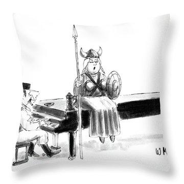 New Yorker June 22nd, 1987 Throw Pillow