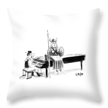 New Yorker June 22nd, 1987 Throw Pillow