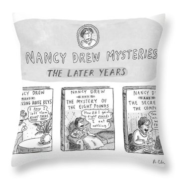 New Yorker June 22nd, 1998 Throw Pillow