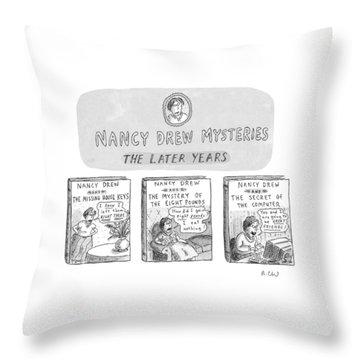 New Yorker June 22nd, 1998 Throw Pillow