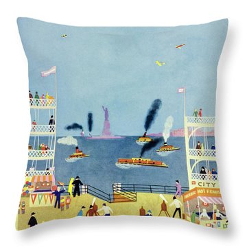 New Yorker June 25 1932 Throw Pillow