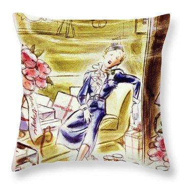 New Yorker June 25 1938 Throw Pillow