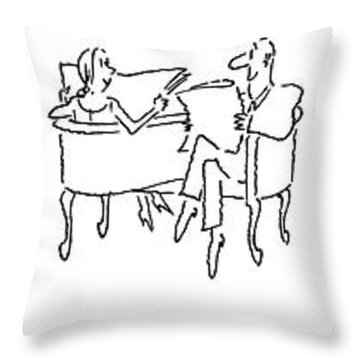 New Yorker June 25th, 1979 Throw Pillow