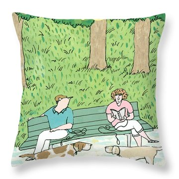 New Yorker June 27th, 1988 Throw Pillow