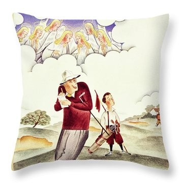 New Yorker June 6 1936 Throw Pillow