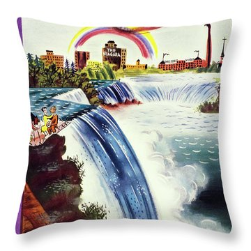 New Yorker June 8 1935 Throw Pillow
