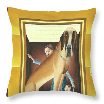 New Yorker March 10th, 2003 Throw Pillow
