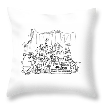 New Yorker March 12th, 1979 Throw Pillow