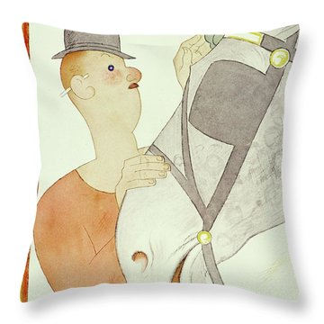 New Yorker March 14 1931 Throw Pillow