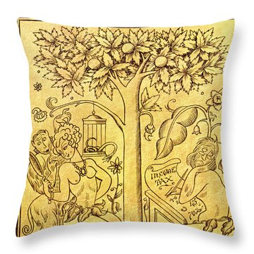 New Yorker March 14 1936 Throw Pillow