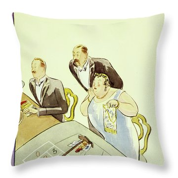 New Yorker March 3 1931 Throw Pillow