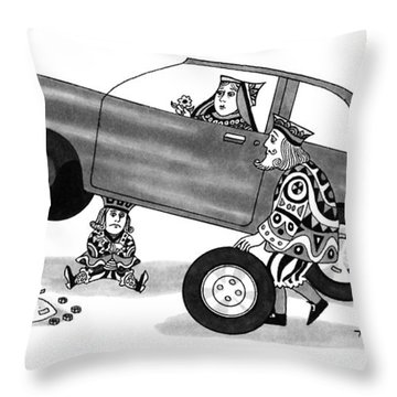 New Yorker March 4th, 1991 Throw Pillow