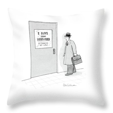 New Yorker May 14th, 1984 Throw Pillow